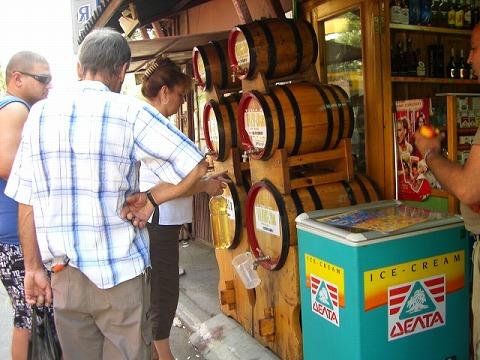 ワイン量り売り